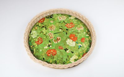 La Corallina's wicker trays