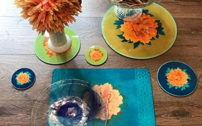 Colors on the table!