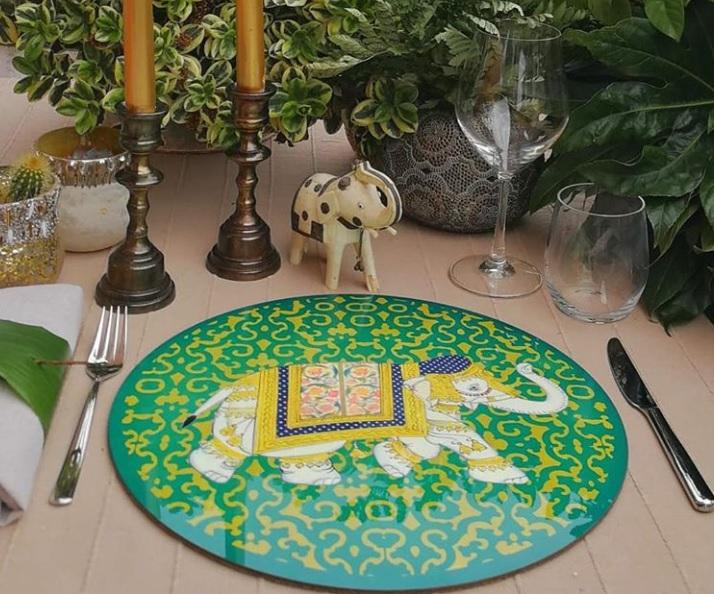 sottopiatto elephanta elefanti