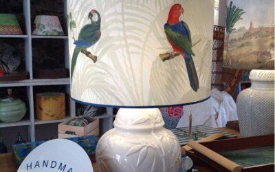 Our fantastic Fauna Pappagalli Colorful lampshade!