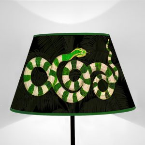 Serpenti Verdi fondo Nero